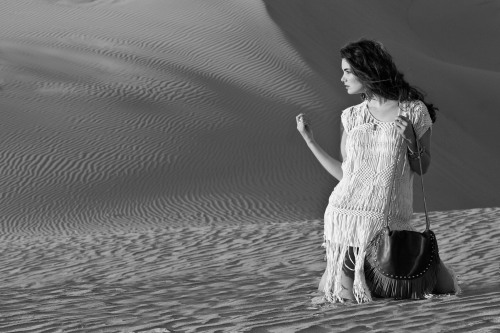 Spring shoot 2013-16 bw sand retouched