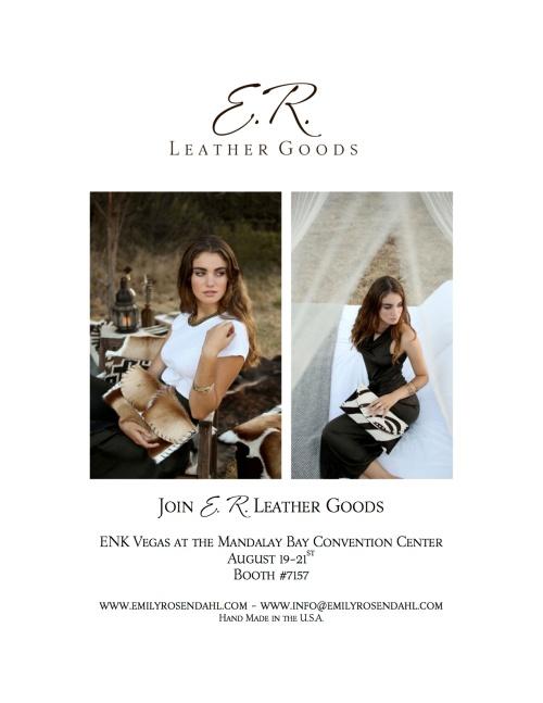 ER Leather Goods ENK Announcement copy